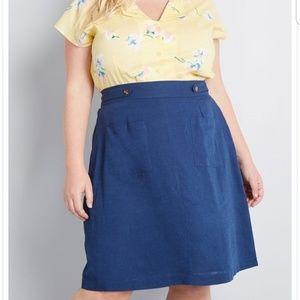 Often adored A line skirt